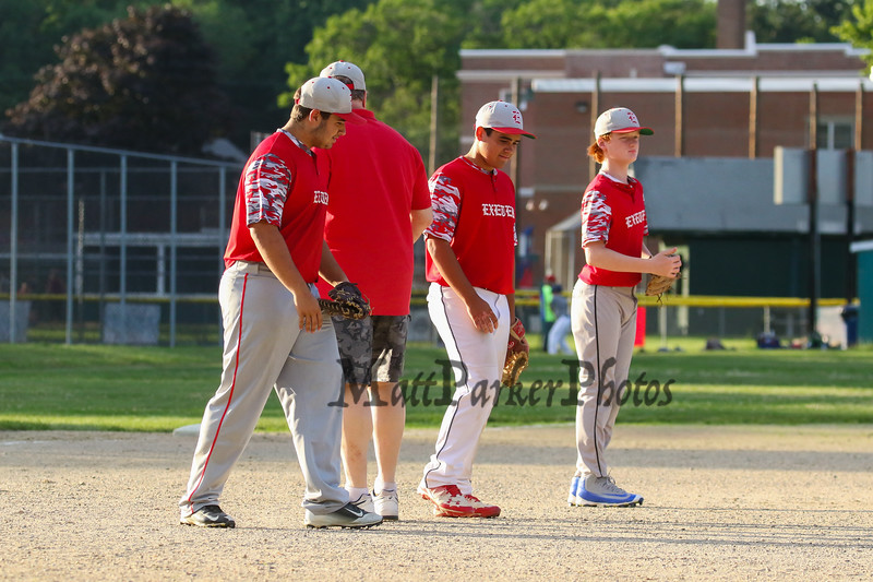 Seacoast Baseball U13-14 1st round playoffs Hampton Black vs Exeter Red on Monday 6-26-2017 @ Tuck Field Hampton, NH.  Matt Parker Photos