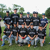 Hampton Black's U13-14 baseball team poses for a photo after their 1st round playoff win over Exeter Red's with a score of 14 to 5 on Monday 6-26-2017 @ Tuck Field Hampton, NH.  Matt Parker Photos