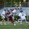 Clipper's #9 Zadoc White runs through Dover defenders during Wednesday's NHIAA DIV II Semi-Finals game between Portsmouth and Dover High Schools on 6-7-2017 @ Stellos Stadium, Nashua, NH.  Matt Parker Photos