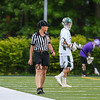 Robin Day of Hampton at the Porstmouth Clippers Boys Lacrosse vs the Green Wave of Dover High School in NHIAA DIV II Semi-Finals game on Wednesday 6-7-2017 @ Stellos Stadium, Nashua, NH.  Matt Parker Photos