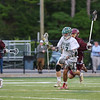 Porstmouth Clippers Boys Lacrosse vs the Green Wave of Dover High School in NHIAA DIV II Semi-Finals game on Wednesday 6-7-2017 @ Stellos Stadium, Nashua, NH.  Matt Parker Photos