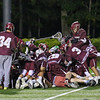 Clipper's celebrate on the field after winning Wednesday's NHIAA DIV II Semi-Finals game between Portsmouth and Dover High Schools on 6-7-2017 @ Stellos Stadium, Nashua, NH.  Matt Parker Photos