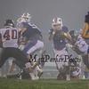 Winnacunnet Warriors Varsity Football vs the Bulldogs of Bedford High School on a foggy Friday Night 9-15-2017 @ WHS.  WHS-20, BHS-8.  Matt Parker Photos