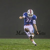 Winnacunnet Warriors Varsity Football vs the Bulldogs of Bedford High School on a foggy Friday Night 9-15-2017 @ WHS.  WHS-20, BHS-8.  Matt Parker Photos