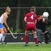 Winnacunnet Warriors Girls Field Hockey vs the Crimson Tide of Concord in NHIAA's DIV I game on Monday 9-18-2017 @ WHS.  WHS-1, CHS-0.  Matt Parker Photos