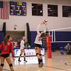 Winnacunnet Warriors Girls Volleyball vs the Cavaliers of Hollis-Brookline High School on Monday 9-18-2017 @ WHS.  Matt Parker Photos