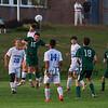 Winnacunnet Warriors Boys Soccer vs the Green Wave of Dover High School on Tuesday 9-26-2017 @ WHS.  WHS-0, DHS-2.  Matt Parker Photos