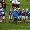 Winnacunnet Warriors Football vs the Grizzlies of Goffstown High School in NHIAA DIV I play between #3 Winnacunnet and #2 Goffstown on Saturday 9-30-2017 @ WHS.  WHS-9, GHS-6.  Matt Parker Photos