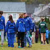 Winnacunnet girls warming up prior to the start of the NHIAA DIV I Boys and Girls Cross Country State Championships on Saturday 10-27-2018 @ Derryfield Park Manchester, NH.  Matt Parker Photos
