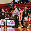 Bedford Bulldogs Boys Basketball vs the Warriors of Winnacunnet High School on Friday 1-12-2018 @ BHS.  BHS-66, WHS-62.  Matt Parker Photos