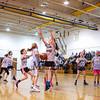 HYA 5-6 Girls Basketball North Carolina vs UCONN on Saturday 1-13-2018 @ Marston School, Hampton, NH.  Matt Parker Photos