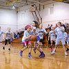 HYA 5-6 Girls Basketball North Carolina vs UCONN on Saturday 1-13-2018 @ Marston School, Hampton, NH.  Matt Parker Photos
