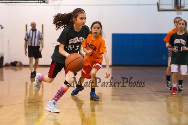 2018-1-13 HYA Girls 5-6 Basketball - Matt Parker Photos