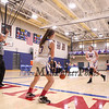 Winnacunnet Warriors Girls JV Basketball vs the Salem Blue Devils on Tuesday 1-16-2018 @ WHS.  Matt Parker Photos