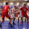 Winnacunnet Warriors Boys Basketball home opener vs the Pioneers of Trinity High School on Friday 1-19-2018 @ WHS.  WHS-75, THS-66.  Matt Parker Photos