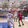 Winnacunnet Warriors Boys Basketball home opener vs the Pioneers of Trinity High School on Friday 1-19-2018 @ WHS.  WHS-75, THS-66.  Matt Parker Photos
