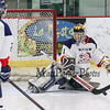 St. Thomas-Winnacunnet Saints-Warriors Girls Hockey vs the Bobcats-Clippers of Oyster River and Portsmouth High Schools on Saturday 1-20-2018 @ Dover Ice Arena, Dover, NH. STA-WHS-2, ORHS-PHS-10. Matt Parker Photos
