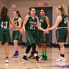 Winnacunnet Warriors Girls Basketball vs the Little Green of Central High Shool on Tuesday 1-9-2018 @ WHS.  WHS-34, CHS-24.  Matt Parker Photos