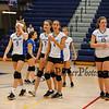 Winnacunnet Girls Freshman Volleyball vs the Blackbirds of Keene High School on Wednesday 10-10-2018 @ WHS.  WHS-3, KHS-0.  Matt Parker Photos