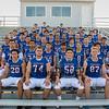 2018 Winnacunnet Warriors Football team photo day on Friday 8-24-2018 @ WHS.  Matt Parker Photos