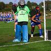 Winnacunnet Warriors Girls Field Hockey vs the Lancers of Londonderry High School on Wednesday 10-3-2018 @ WHS. WHS-2, LHS-2.  Matt Parker Photos