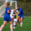 Winnacunnet Warriors Girls Soccer vs the Owls of Timberlane High School in DIV I play on Wednesday 10-3-2018 @ WHS.  Matt Parker Photos