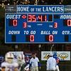 Londonderry Lancers DIV I Football vs the Warriors of Winnacunnet High School on Friday Night 10-5-2018 @ LHS.  LHS-38, WHS-34.  Matt Parker Photos