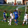 Winnacunnet Warriors Boys DIV I Soccer vs the Blackbirds of Keene High School on Tuesday 10-9-2018 @ WHS.  WHS-1, KHS-4.  Matt Parker Photos