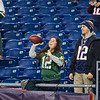 NFL's Sunday Night Football football game between the New England Patriots and Green Bay Packers at Gillette Stadium, Foxborough, MA on 11-4-2018.  NE-31, GB-17.  Matt Parker Photos