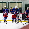 Dover Green Wave Boy's Ice Hockey vs the Warriors of Winnacunnet High School on Wednesday 12-12-2018 @ Dover Ice Arena.  DHS-5, WHS-0.  Matt Parker Photos