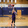 Marshwood's #21 Noelle Barrett takes a couple foul shots at halftime at the York Wildcats vs the Marshwood Hawks in Class A South Girls Basketball on Saturday 12-15-2018 @ the Robert Butler Gymnasium YHS, York ME.  Matt Parker Photos