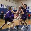 York Wildcats vs the Marshwood Hawks in Class A South Girls Basketball on Saturday 12-15-2018 @ the Robert Butler Gymnasium YHS, York ME.  Matt Parker Photos