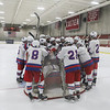 Winnacunnet Warriors Ice Hockey vs the Saints of St. Thomas Aquinas High School on Wednesday 12-19-2018 @ Phillips Exeter Academy Rinks.  Matt Parker Photos