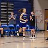 Merrimack's #12 Samantha Page being introduced as a starter at the Winnacunnet Warriors Girls Basketball vs the Tomahawks of Merrimack High School on Friday 12-21-2018 @ WHS.  Matt Parker Photos