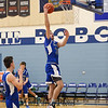8th Annual Bobcat Holiday Classic Basketball Tournament 1st round game between the Warriors of Winnacunnet and the Hilltoppers of Somersworth High School on Wednesday 12-26-2018 @ Oyster River.  WHS-64, SHS-47.  Matt Parker Photos