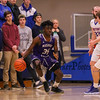 Winnacunnet Warriors Boys Basketball vs the Purple Panthers of Nashua South High School on Tuesday 2-13-2018 @ WHS.  WHS-43, NSHS-50.  Matt Parker Photos