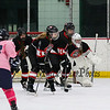 The Ninth Annual Pink Game between St. Thomas-Winnacunnet Saints-Warriors Girls Hockey vs the Bulldogs of Bedford High School to benefit Wentworth-Douglas Hospital Cancer Center on Wednesday 2-14-2018 @ Dover Ice Arena, Dover, NH. Matt Parker Photos