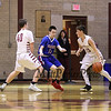 Portsmouth Clippers JV Boys Basketball vs the Warriors of Winnacunnet High School on Friday 2-23-2018 @ PHS.  PHS-55, WHS-52.  Matt Parker Photos
