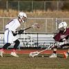 Winnacunnet Warriors Boys JV Lacrosse vs the Owls of Timberlane High School in DIV II play on Wednesday 4-11-2018 @ WHS.  Matt Parker Photos