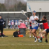 Winnacunnet Warriors Girls Lacrosse vs the Crusaders of Memorial High School at Winnacunnet's Home Opener on Thursday 4-12-2018 @ WHS.  WHS-15, MHS-0.  Matt Parker Photos