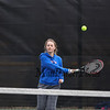 Winnacunnet Warriors Girls Tennis vs the Broncos of Alvirne High School on Thursday 4-12-2018 @ WHS.  WHS-6, AHS-1.  Matt Parker Photos