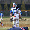 Winnacunnet Warriors Baseball Home Opner vs the Lancers of Londonderry High School on Friday 4-13-2018 @ WHS.  WHS-0, LHS-7.  Matt Parker Photos
