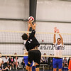 Winnacunnet Warriors Boys Volleyball Home Opener vs the Blackbirds of Keene High School on Monday 4-16-2018 @ The Rim.  WHS-3, KHS-1.  Matt Parker Photos