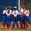 Winnacunnet Warriors girls softball vs the Tomahawks of Merrimack High School on Tuesday 4-17-2018 @ WHS.  Matt Parker Photos
