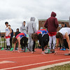 Winnacunnet Warriors Spring Track and Field vs Londonderry and Dover High Schools on Tuesday 4-17-2018 @ WHS.  Matt Parker Photos