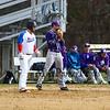 Winnacunnet Warriors Boys Varsity Baseball vs the Purple Panthers of Nashua South High School on Wednesday 4-18-2018 @ WHS.  WHS-3, NSHS-5 in extra innings.  Matt Parker Photos