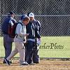 Winnacunnet Warriors JV Girls Softball vs the Blue Devils of Salem High School on Friday 4-20-2018 @ WHS.  Matt Parker Photos
