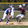 Winnacunnet Warriors boys varsity baseball vs the Owls of Timberlane High School on Monday 4-23-2018 @ WHS.  WHS-0, THS-4.  Matt Parker Photos