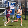 Winnacunnet Warriors girls varsity lacrosse vs the Grizzlies of Goffstown High School on Monday 4-23-2018 @ WHS.  WHS-15, GHS-3.  Matt Parker Photos
