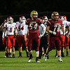 Clippers #54 nolan Pafford, Portsmouth Clippers Football vs the Red Raiders of Spaulding High School on Friday Night 9-27-2019 @ PHS.  Matt Parker Photos